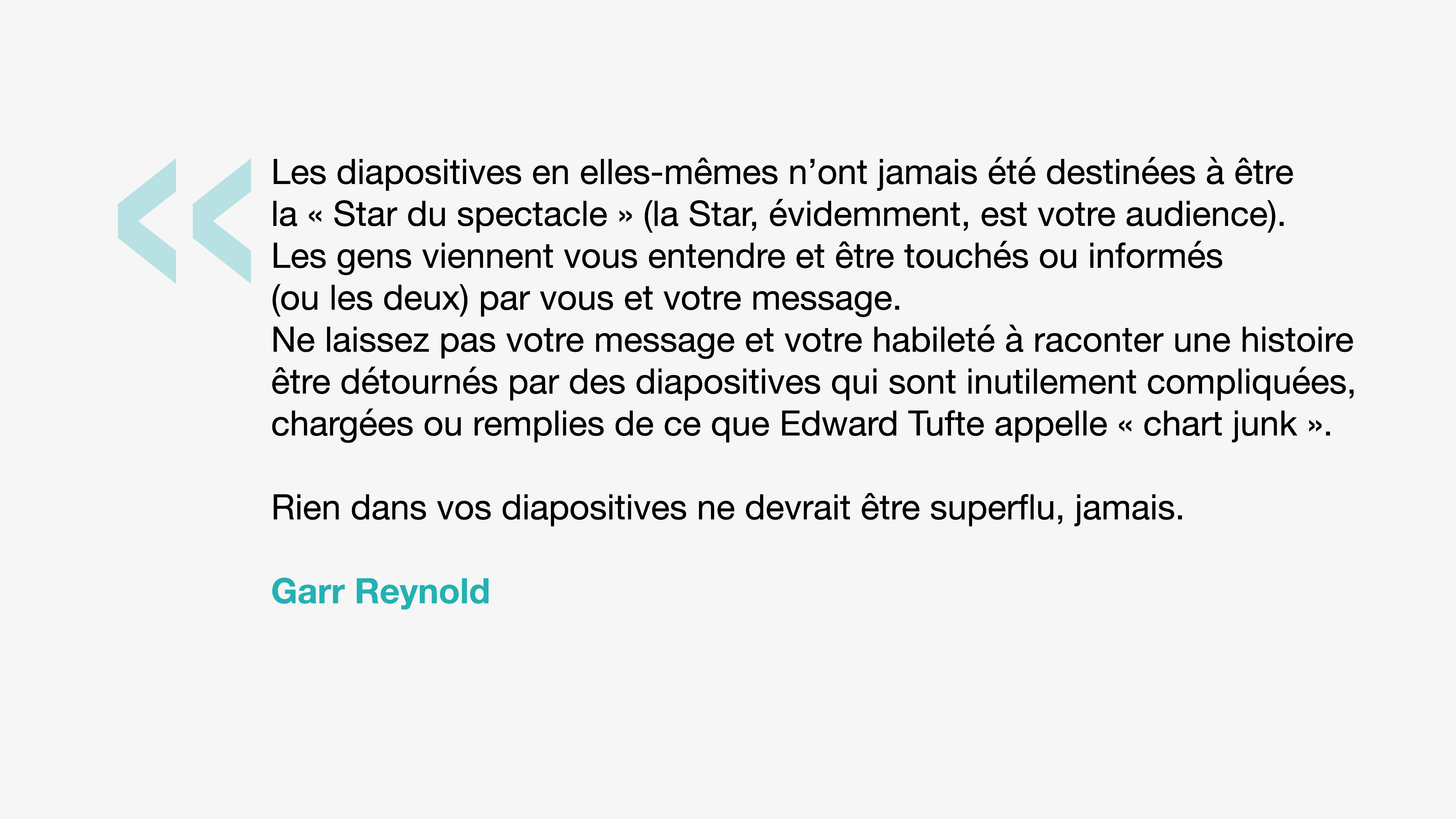 Citation Garr Reynold