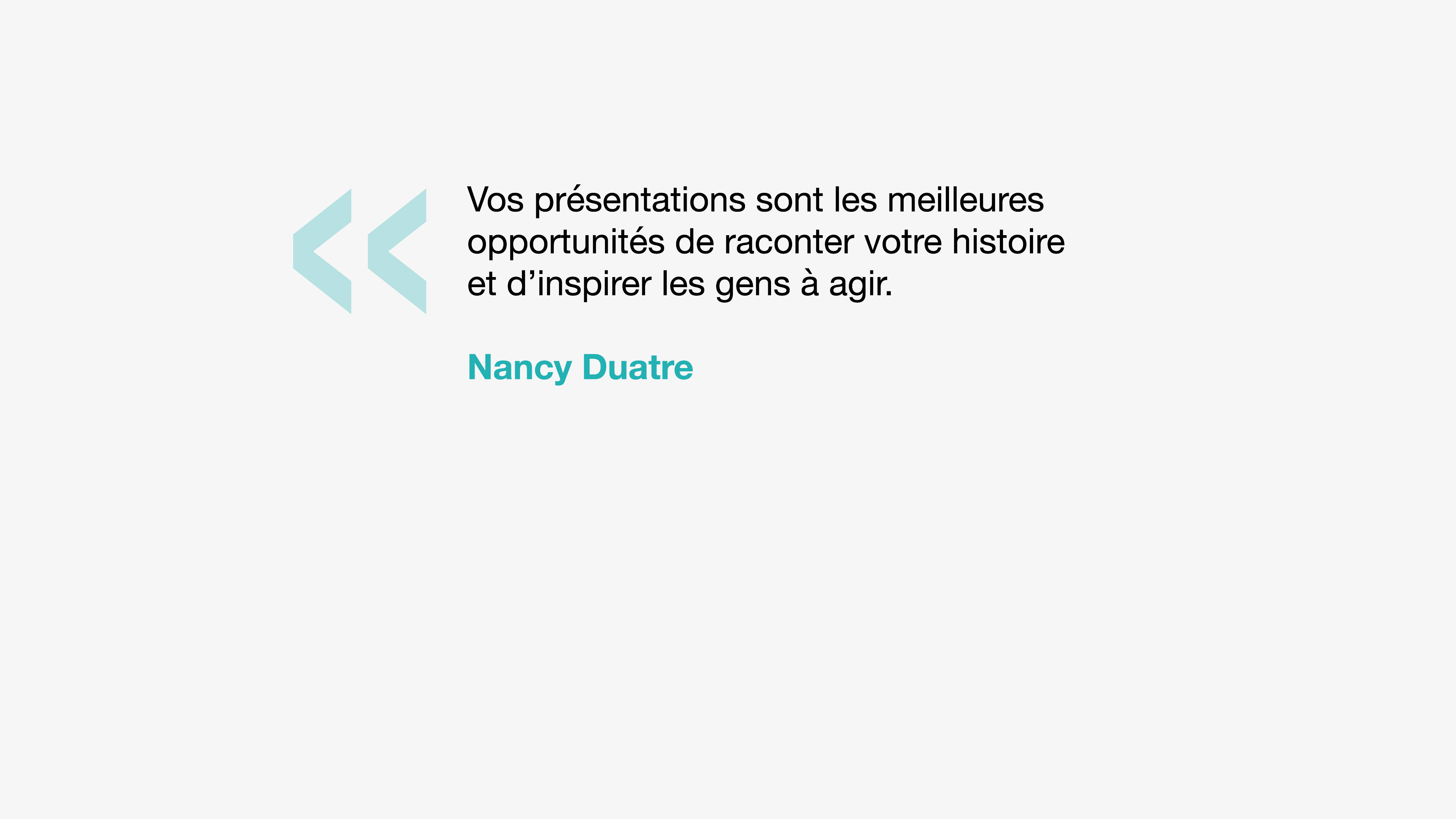 Citation Nancy Duarte